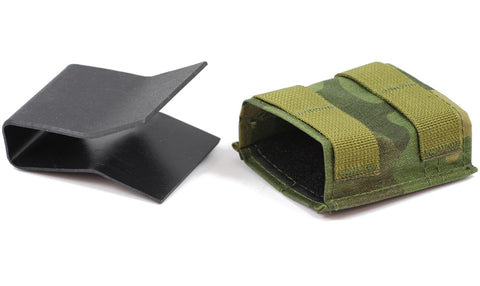 Esstac 5.56 Single KYWI Shorty - Hybrid Kydex Mag Pouch With Outside Molle