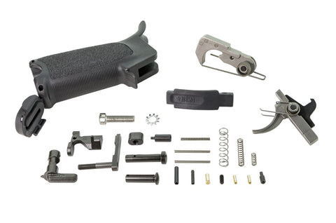 BCMGUNFIGHTER - AR15 Enhanced Lower Parts Kit - Black