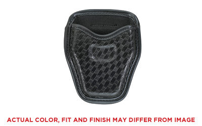 Bianchi, Model 7934 Open Handcuff Case, Basket Weave