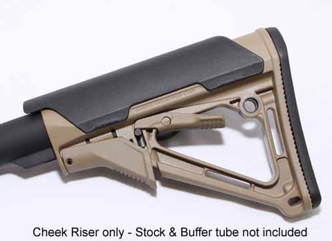 "Magpul - CTR® - MOE® 0.25"" and .05"" Cheek Riser"