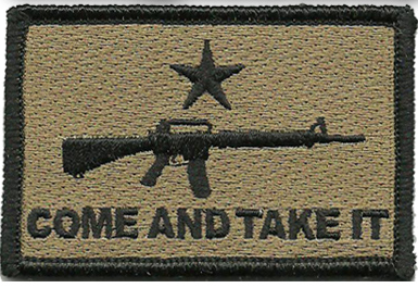 "Come and Take It Velcro Patch - 2""x 3"""