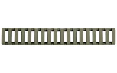 Ergo Grip Rail Protector/Rail Covers (Fits 18 Slot Ladder) OD Green Finish