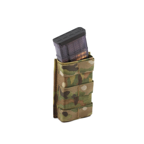 Esstac 5.56 Single KYWI Tall - Hybrid Kydex Mag Pouch With Outside Molle