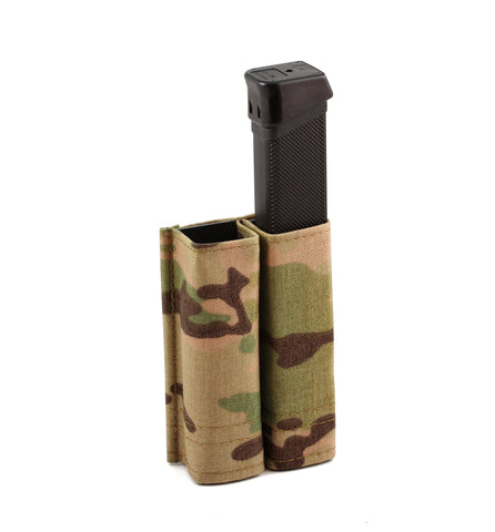 Esstac Subgun Glock and Colt style Double Kywi pouch, High Cap Mags