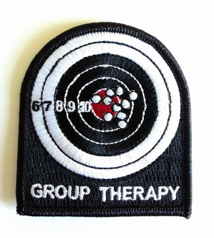 "Group Therapy, Velcro Moral Patch - 2""x 3"""