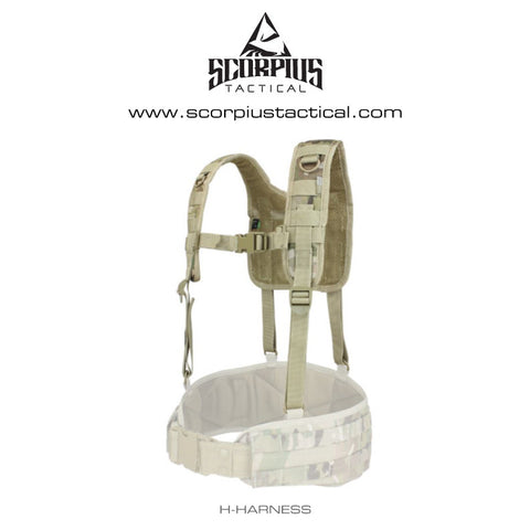 215 - H-Harness For Battle Belt - Condor