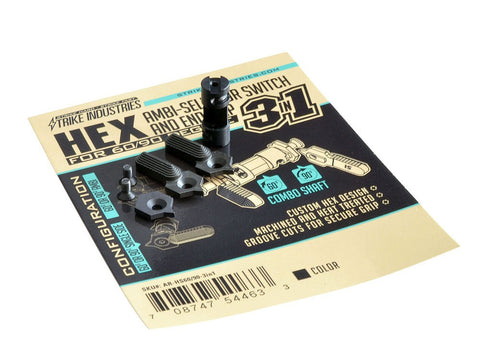 HEX Selector Switch 60/90 degree 3 in 1 - Strike Industries