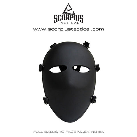 High Ballistic Full Face Mask Level 3A