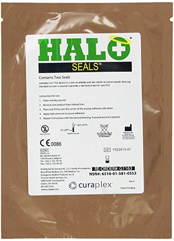 HALO Chest Seals - 2 per