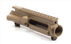 M4E1 Threaded Stripped Upper Receiver AR15 - Aero Precision - FDE Cerakote