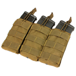 MA27 - Triple Open-Top M4 Mag Pouch - Condor