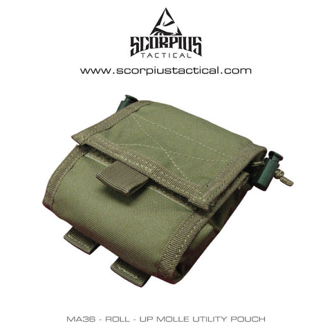 MA36 - Roll - Up Molle Utility Pouch