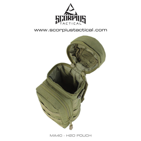 MA40 - H2O Insulated Molle Water Bottle Pouch - Condor