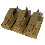 MA55 Triple Kangaroo AR-15 Mag Pouch With Molle Attachments - Condor