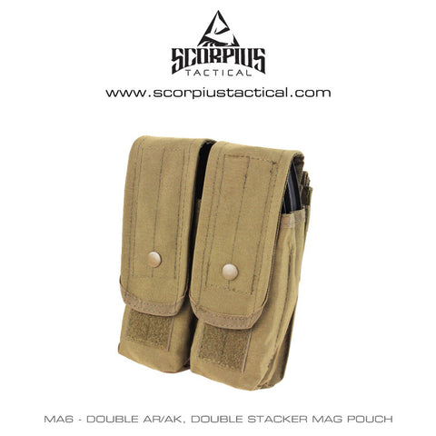 Condor MA6 - Double AR/AK, Double Stacker Mag Pouch