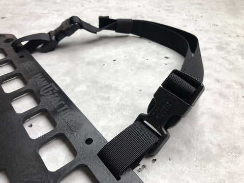 Mounting Strap - Sewn Side-Release Buckle - Loop Around Top 24in  - Grey Man Tactical