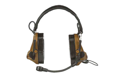 3M/Peltor, ComTac V, Electronic Earmuff, Headband, Foldable, Single Lead, Standard Dynamic Mic, NATO Wiring