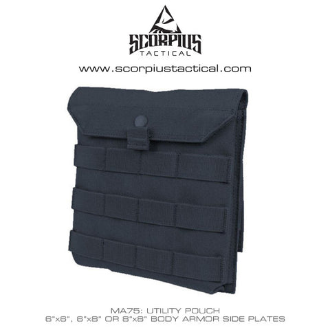 Ma75 Side Plate Utility Pouch Body Armor Side Plate
