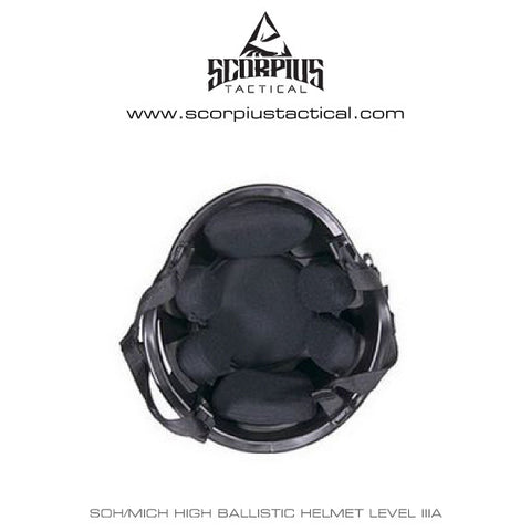 SOH/MICH High Ballistic Helmet Level IIIA Protection