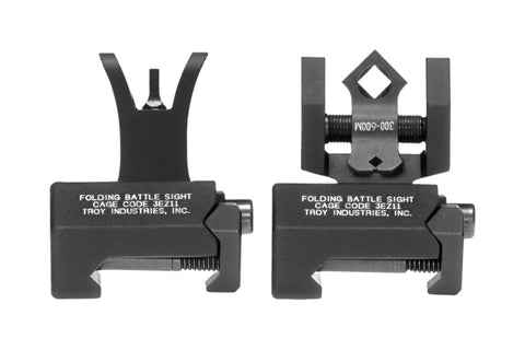 Troy Industries Micro BattleSight Set - Di-Optic Aperture Rear / M4 Front