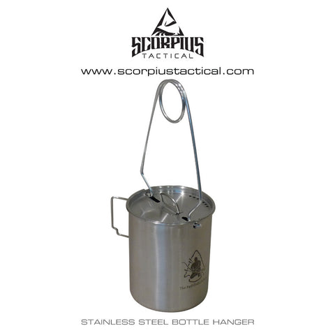 "Pathfinder 25oz Stainless Steel Cup with ""Bat Wing"" Handles"