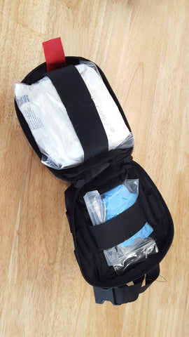 Small Medical Field Kit with Rip Away EMT Light Pouch