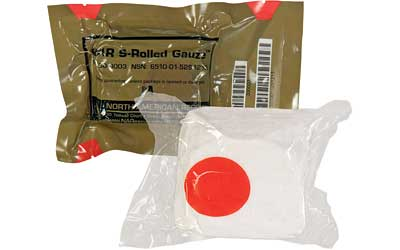 North American Rescue S-Rolled Gauze 4.5