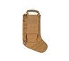 Tactical Christmas Stocking with Molle Gear - Tan