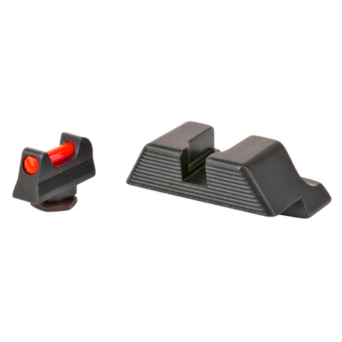 Trijicon Fiber Optic Sights For Glock 9mm/40cal frames