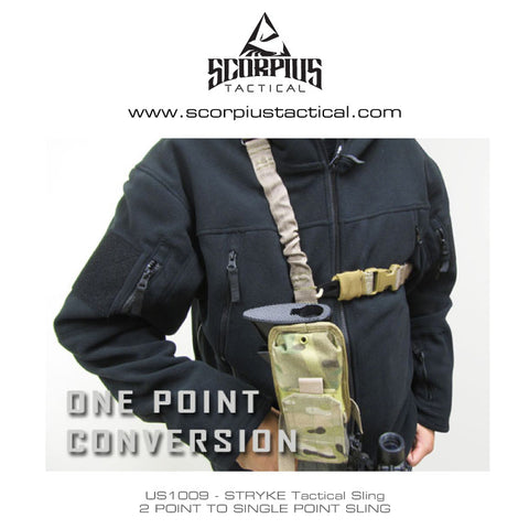 US1009 - Two Point To Single Point STRYKE Tactical Sling - Condor