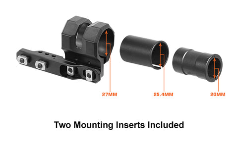UTG - MLOK offset Flashlight Ring Mount- Black