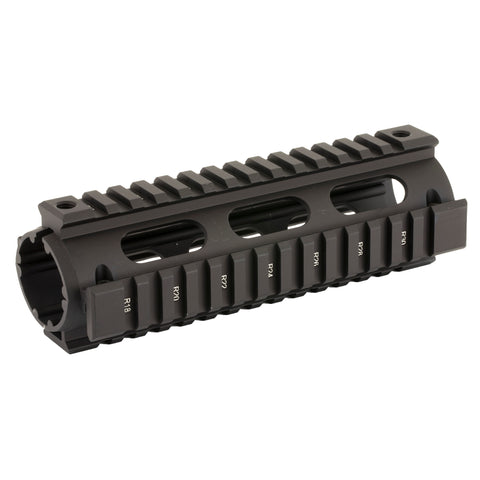 UTG, Model 4/15 Quad Rail, Fits AR Rifles, Carbine Length, Black