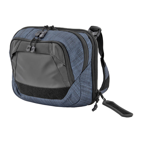 Vertx Tourist Sling Bag Heather Navy/Galaxy Black