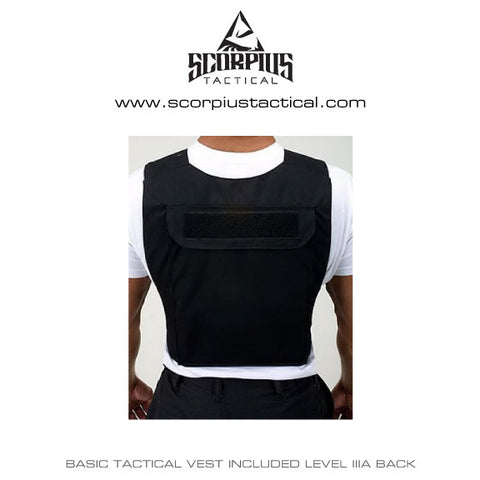 Basic Tactical Vest With 3a Soft Armor Included