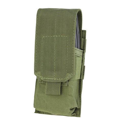 MA5 - Single/Double Stacker M4/AR15 Mag Pouch - Condor