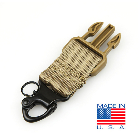 US1011 - Shackle Upgrade Kit, Spring loaded, Steel Shackle - Use with Cobra Single Point Bungee Sling - Condor