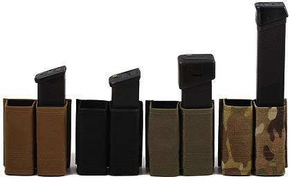 Esstac Double Pistol Double Stack KYWI Hybrid Kydex Mag Pouch