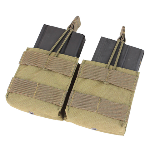 MA24 - Double Open-Top M14, Fal, AR10, G3 .308 Mag Pouch - Condor