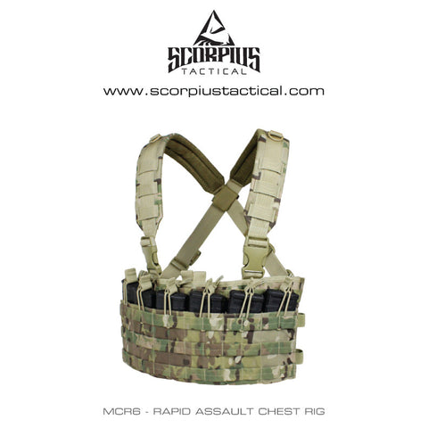 MCR6 - Rapid Assault Chest Rig - M4, AR-15, M16