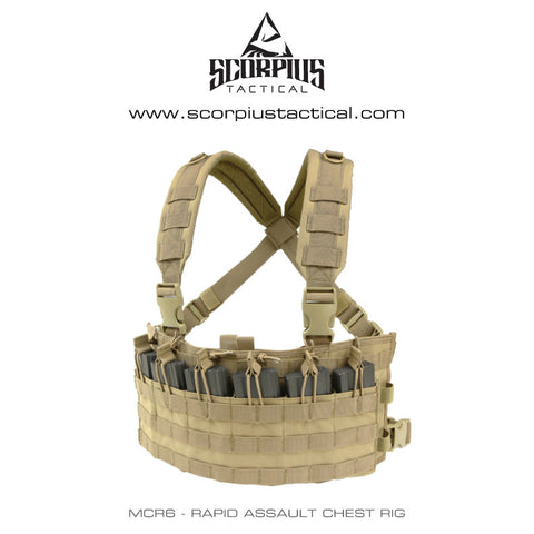 MCR6 - Rapid Assault Chest Rig - Condor