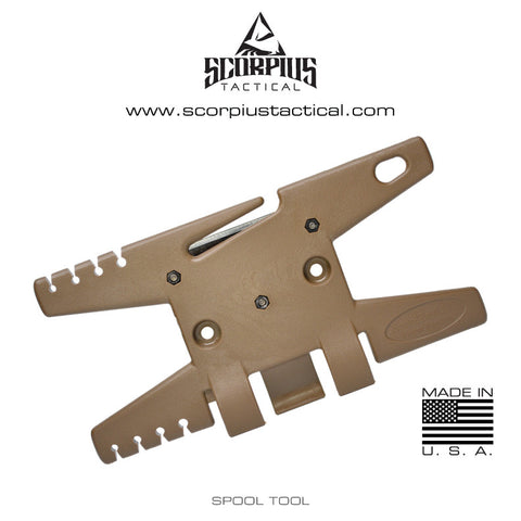 Spool Tool -  The Only Multifunctional Tool Designed For Storing, Cutting, and Finishing Paracord