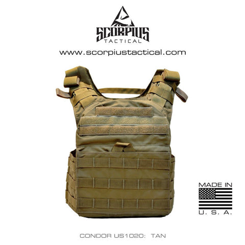 Cyclone US1020 -  Lightweight Armor Plate Carrier, Condor