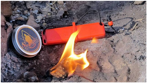 Mini Inferno, Waterproof Fire Starter - Sure Fire