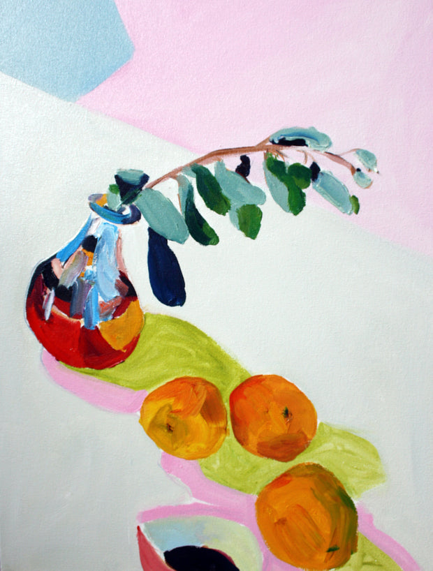 Olive Leaf and Oranges