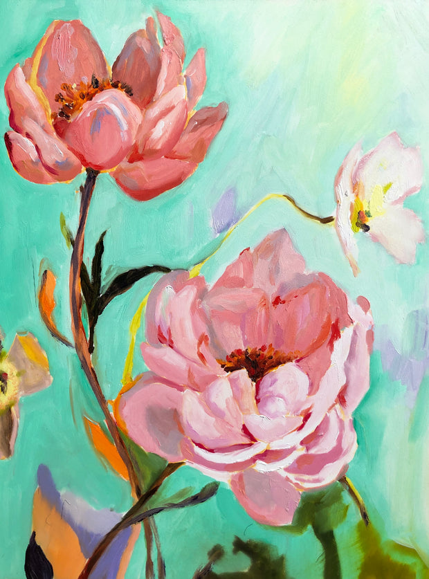 Peonies for May Limited Edition Fine Art Print (FREE SHIPPING)