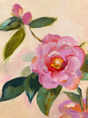 End of Autumn Camellias FREE SHIPPING