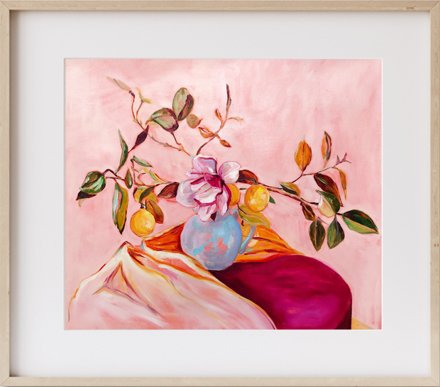 Magnolia & Lemons Large Limited Edition Print