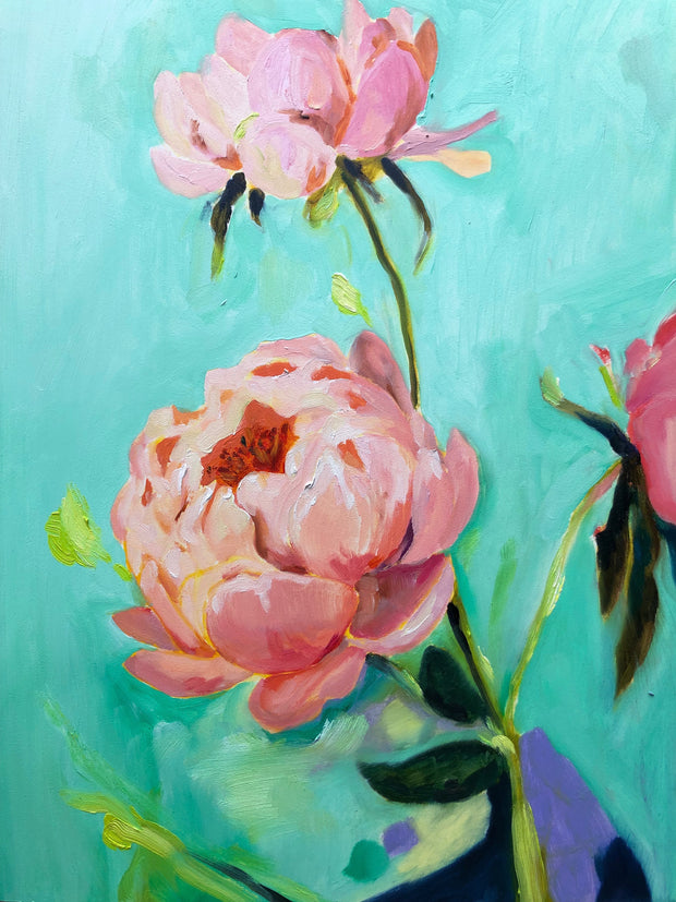 Peonies II Limited Edition Fine Art Print
