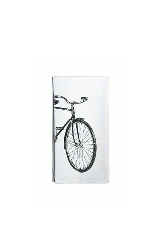 Beach Bike Flour Sack Cotton Towel