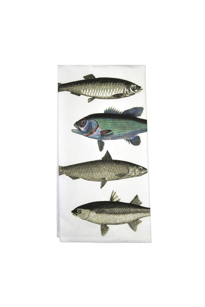 Fish Flour Sack Cotton Towel